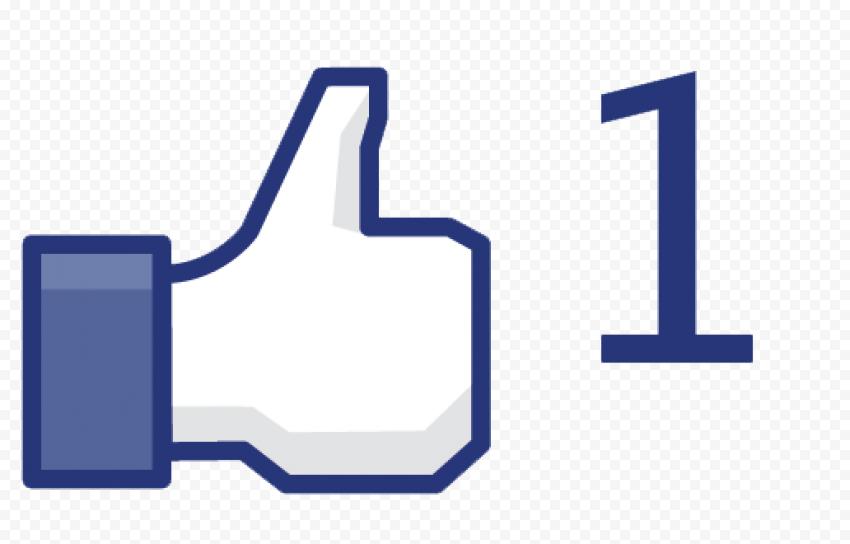 Facebook Like Transparent PNG