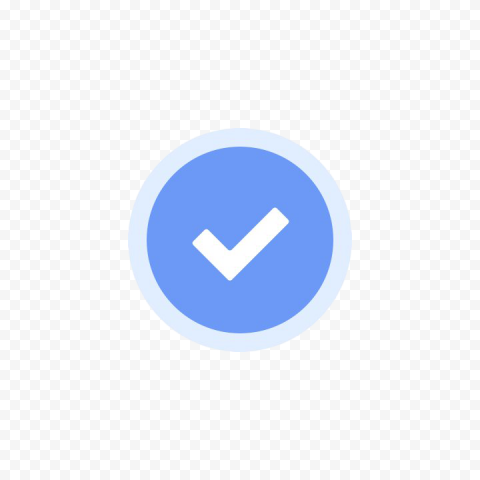 Facebook Verified Badge PNG File