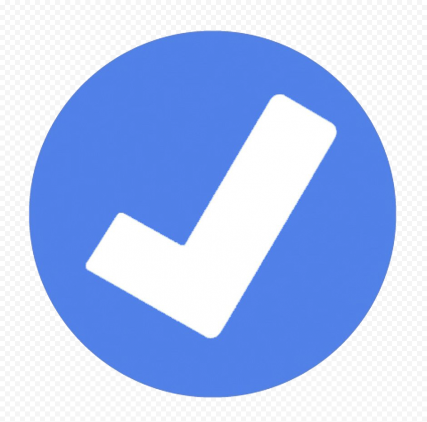 Facebook Verified Badge PNG Image