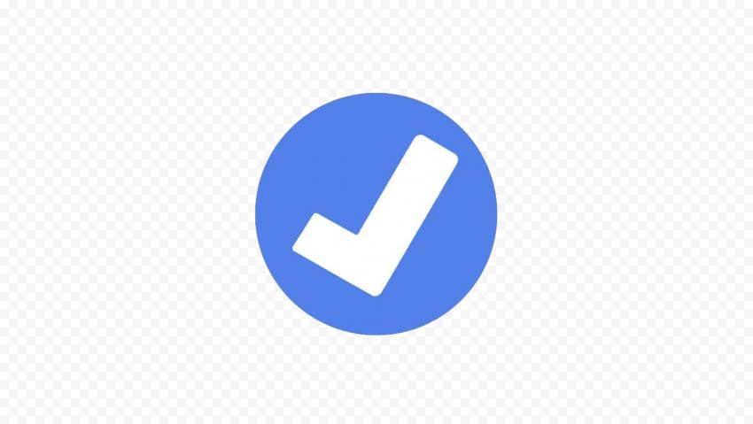 Facebook Verified Badge PNG Transparent Image