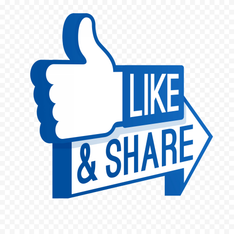 Facebook Like PNG File