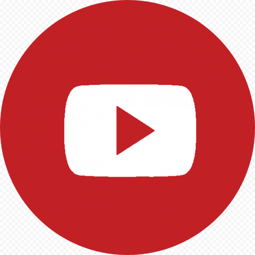 YouTube Play Button Transparent Background