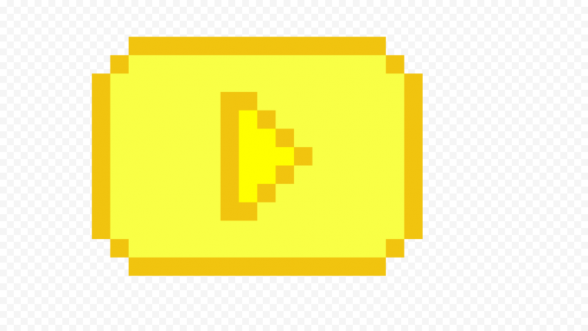 YOUTUBE Gold Play Button PNG Photos