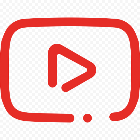 YouTube Play Button Transparent PNG FREE DOWNLOAD