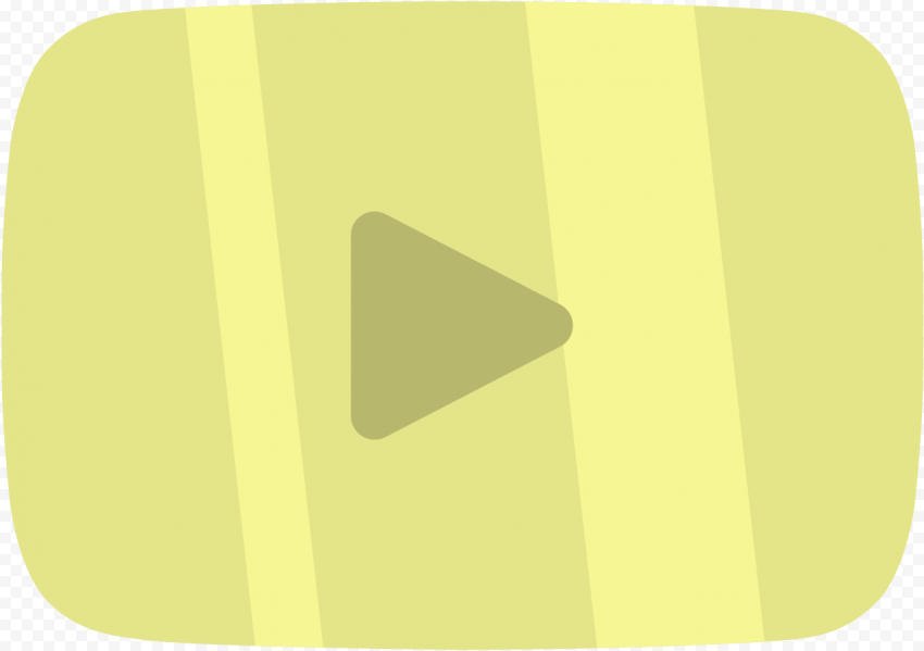 YOUTUBE Gold Play Button PNG Image