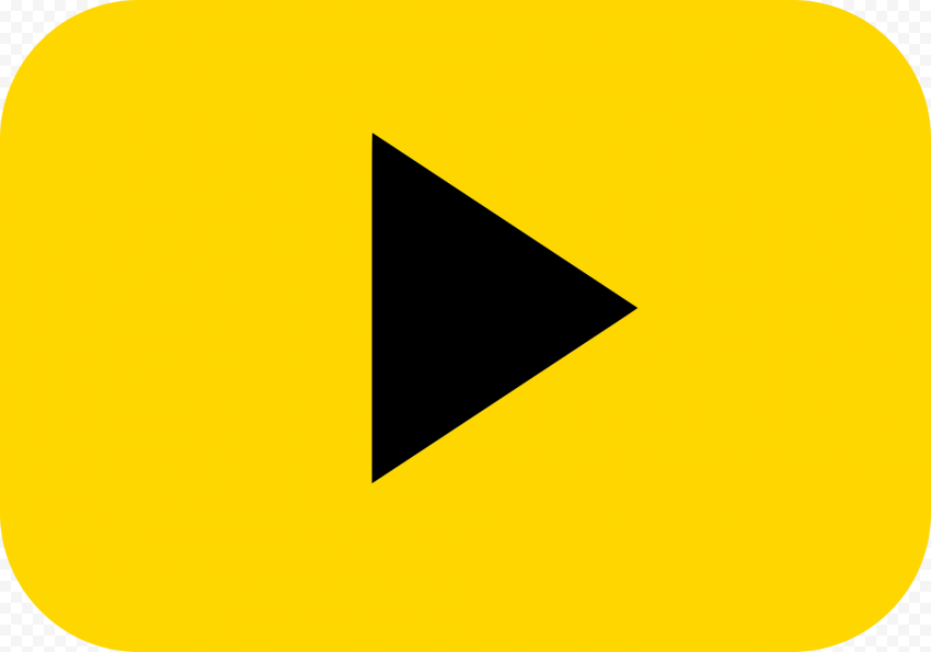 YOUTUBE Gold Play Button PNG Free Download