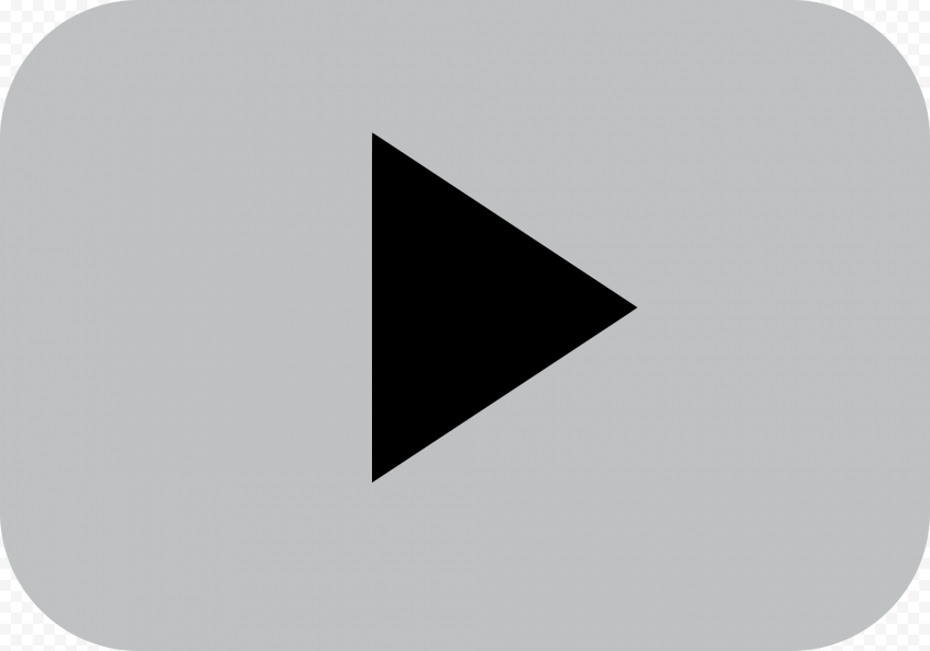 YOUTUBE Silver Play Button Transparent PNG