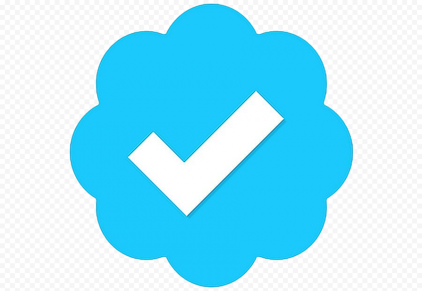 Twitter Verified Badge PNG Transparent Image