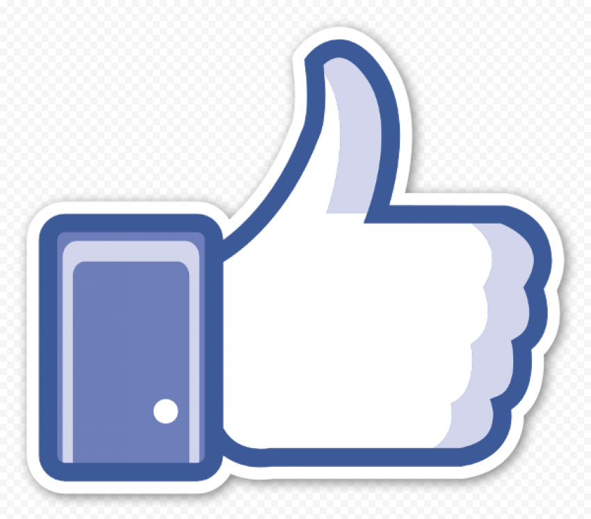 Facebook Like PNG HD
