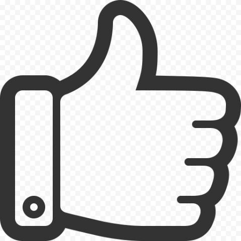 Thumbs UP Transparent PNG