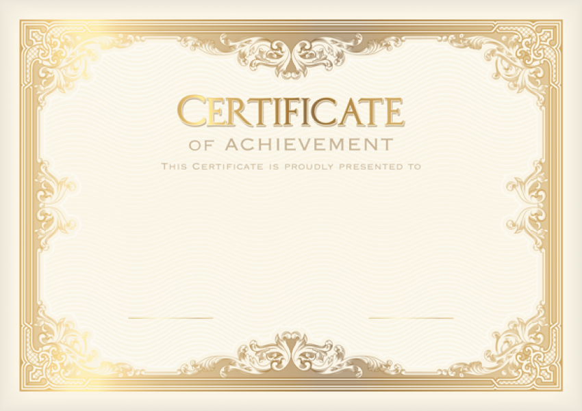 Certificate Transparent PNG png FREE DOWNLOAD