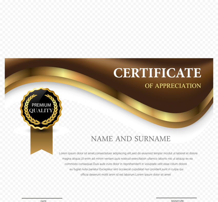 Certificate PNG Transparent png FREE DOWNLOAD