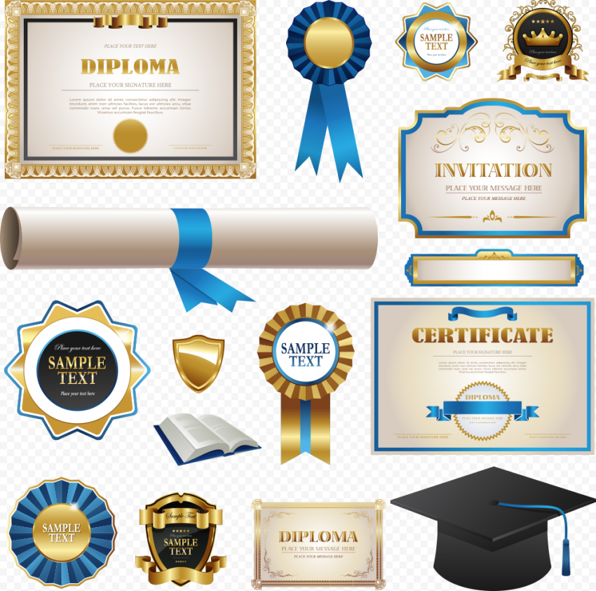 Certificate Transparent Background png FREE DOWNLOAD