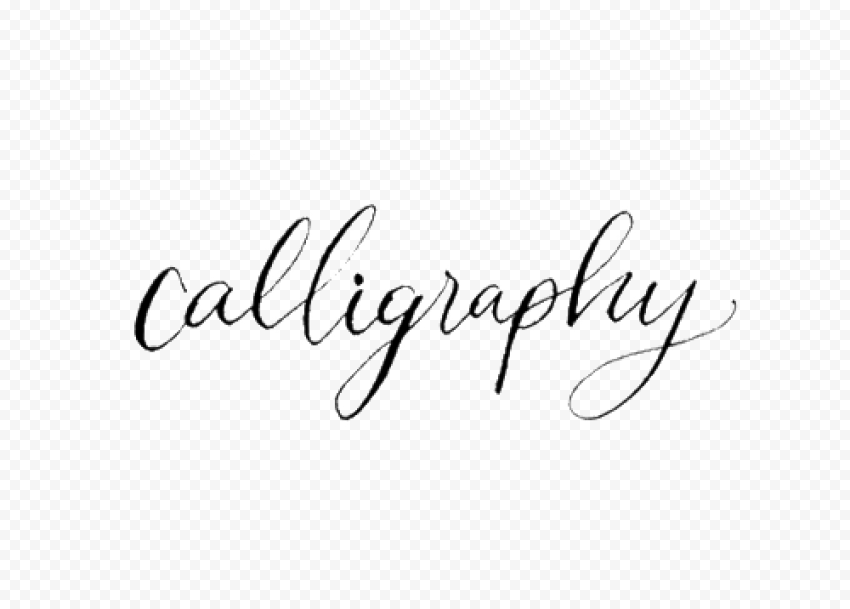 Calligraphy Transparent PNG png FREE DOWNLOAD