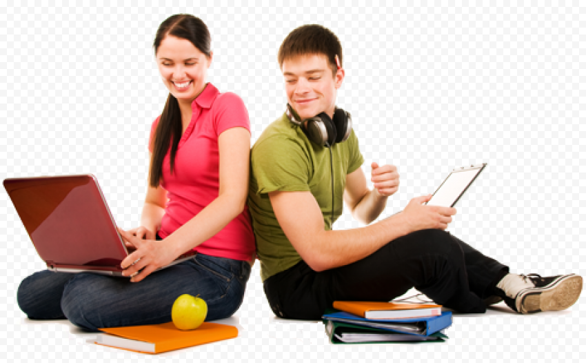 Students Learning Transparent PNG png FREE DOWNLOAD