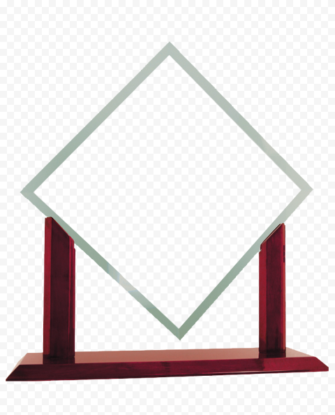 Glass Award Transparent Background png FREE DOWNLOAD