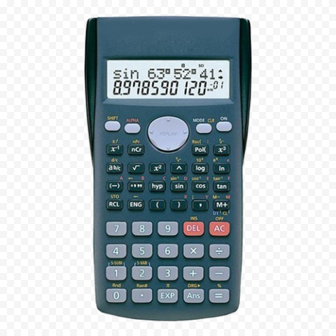 Scientific Calculator PNG Transparent png FREE DOWNLOAD