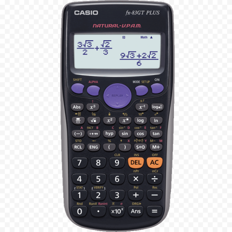 Scientific Calculator Transparent Background png FREE DOWNLOAD