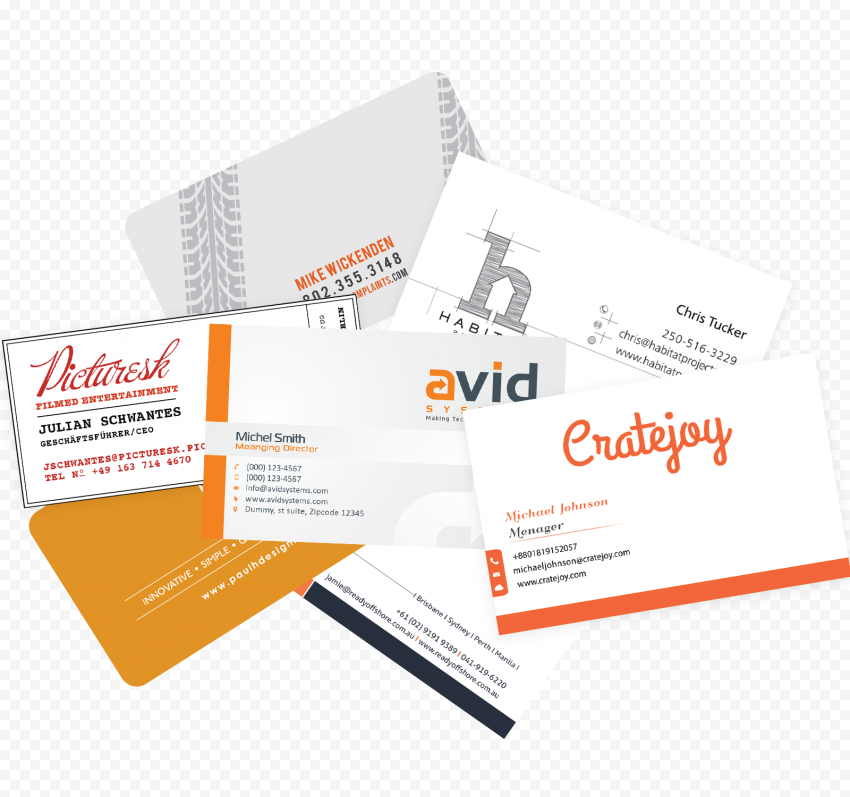 Business Card PNG File png FREE DOWNLOAD