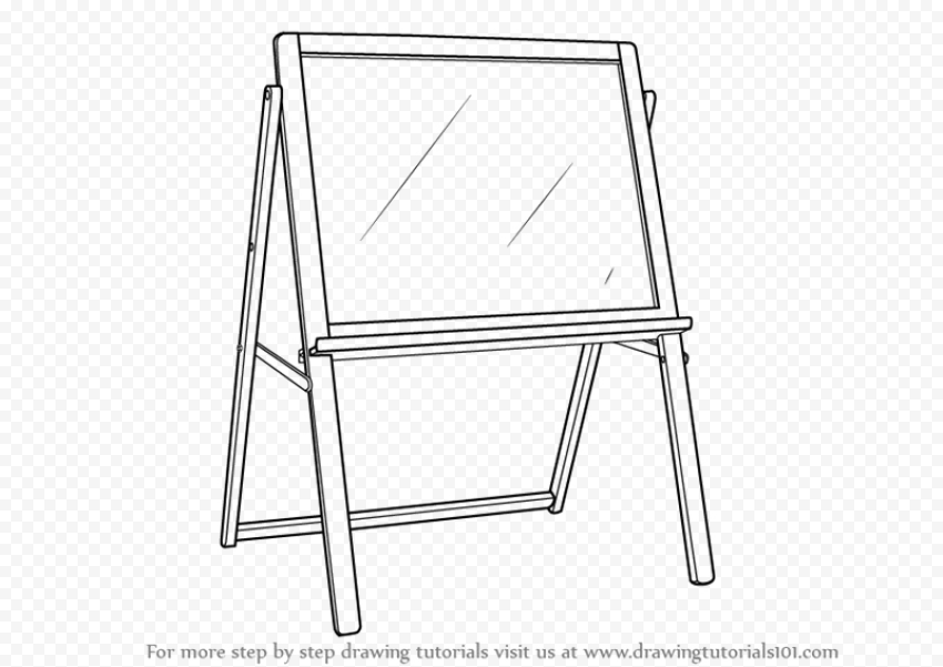 Drawing Board PNG Transparent Picture png FREE DOWNLOAD
