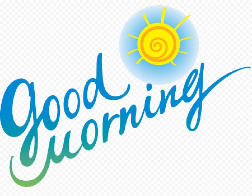 Good Morning PNG Free Download png FREE DOWNLOAD