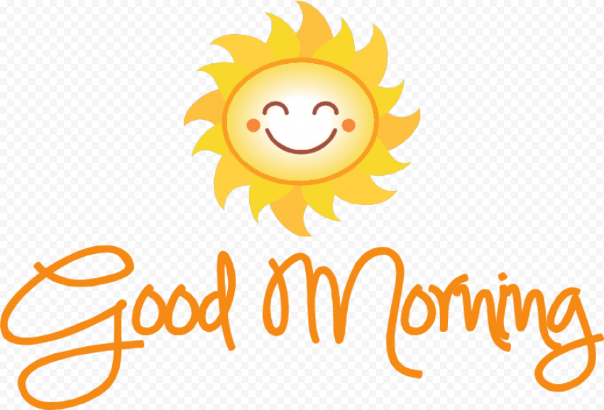 Good Morning PNG Transparent Picture png FREE DOWNLOAD