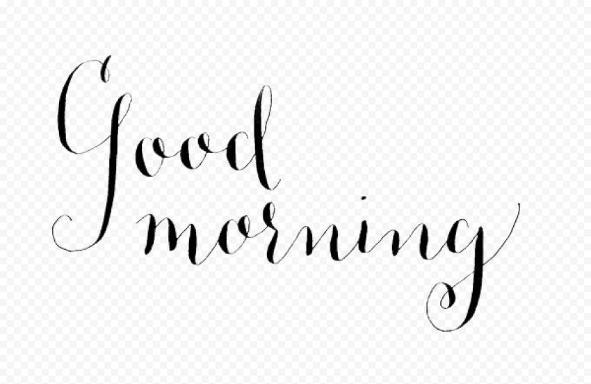Good Morning PNG Photo png FREE DOWNLOAD