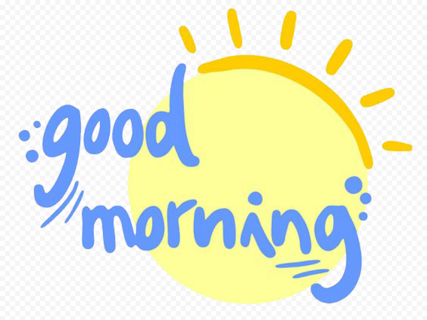 Good Morning PNG Image png FREE DOWNLOAD