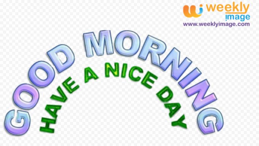 Good Morning PNG Pic png FREE DOWNLOAD