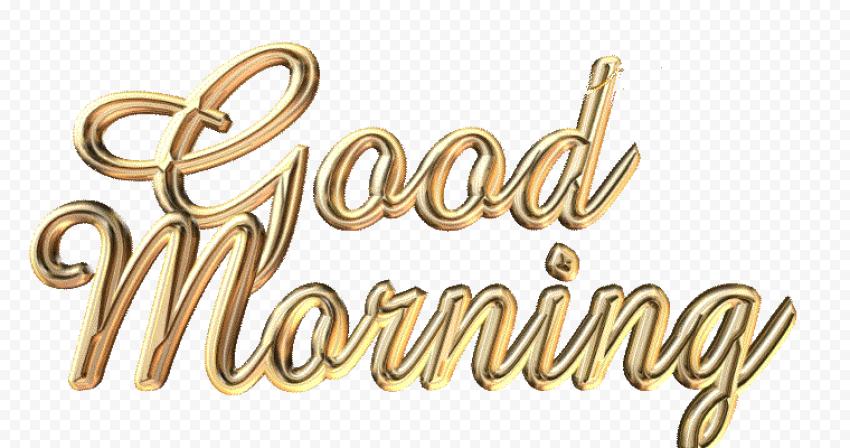 Good Morning Transparent PNG png FREE DOWNLOAD