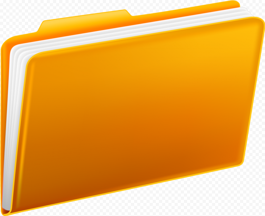 Yellow Folders PNG png FREE DOWNLOAD