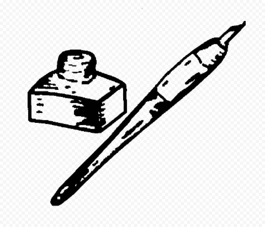 Ink Pot PNG Transparent Image png FREE DOWNLOAD