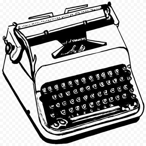 Typewriter PNG HD png FREE DOWNLOAD