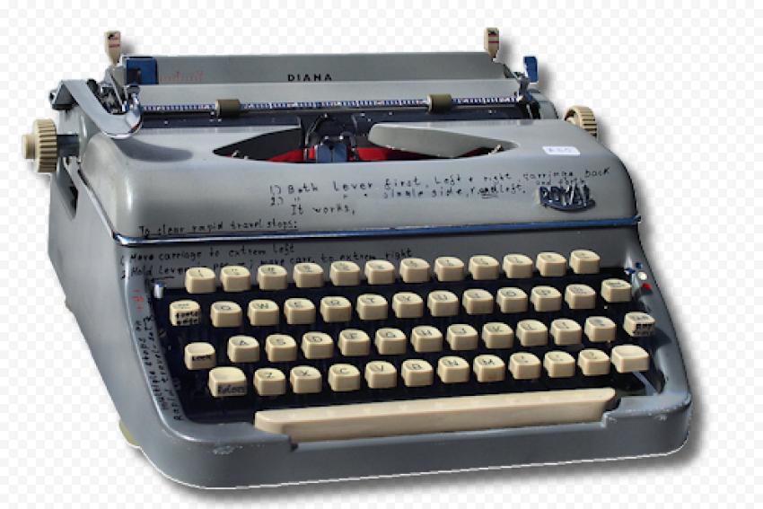 Typewriter PNG File png FREE DOWNLOAD