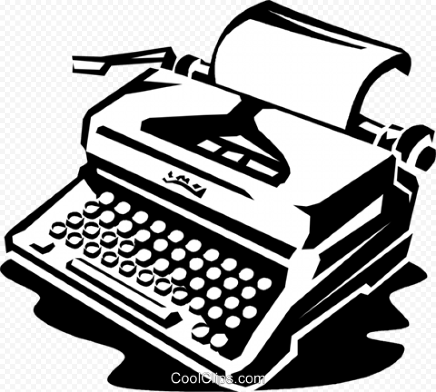 Typewriter Transparent PNG png FREE DOWNLOAD