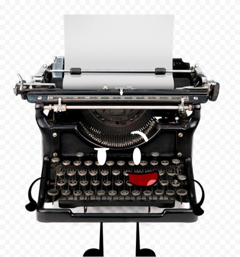 Typewriter Transparent Background png FREE DOWNLOAD