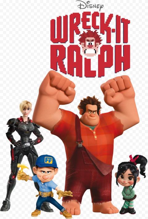 Wreck It Ralph PNG Transparent anime png transparent