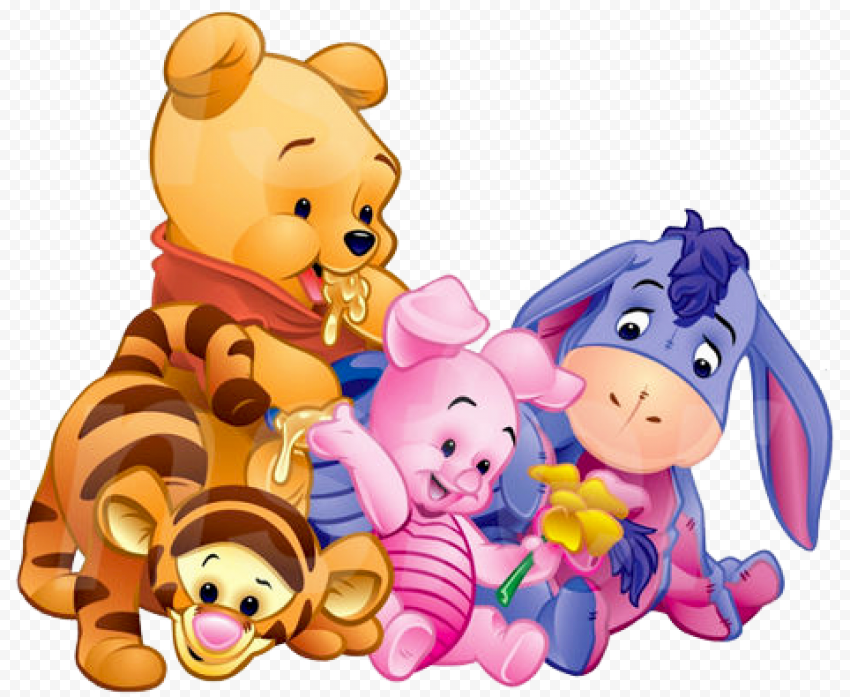 Winnie The Pooh PNG Photo anime png images