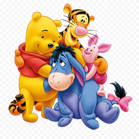 Winnie The Pooh PNG Transparent Image anime png images