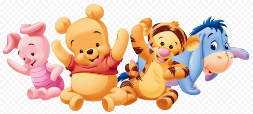 Winnie The Pooh Transparent PNG anime png images