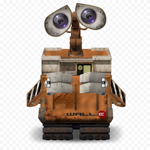 Wall E PNG Transparent Image