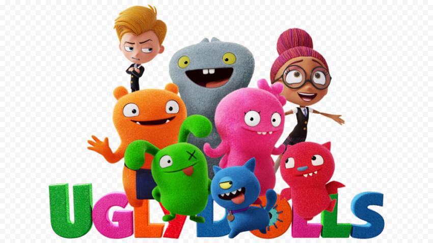 UglyDolls Logo PNG File