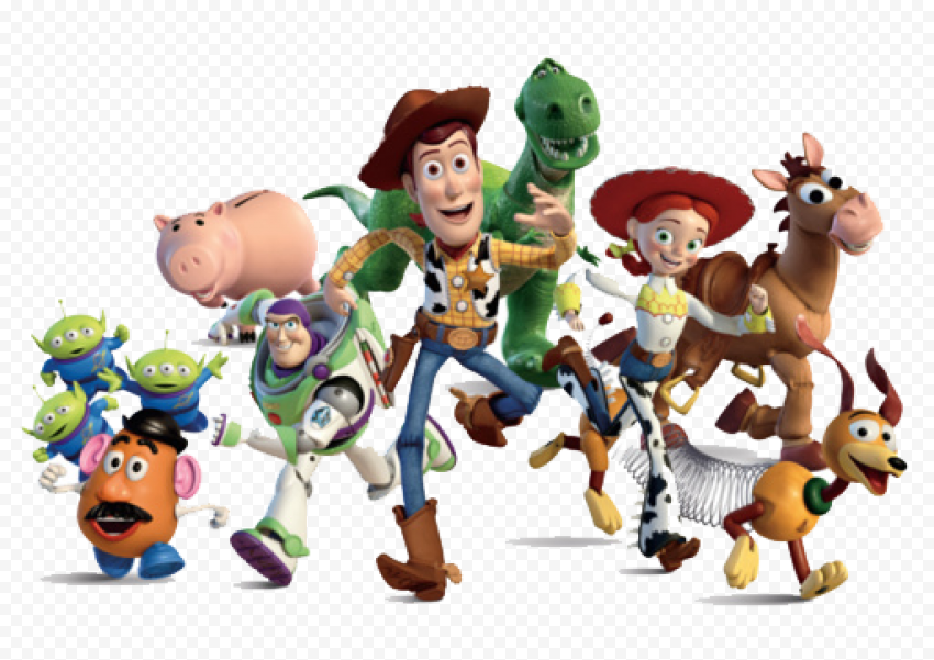 Toy Story Character PNG Clipart