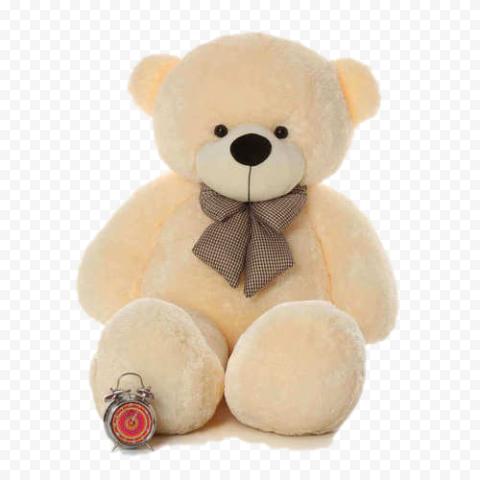 Brown Teddy Bear PNG Transparent Image