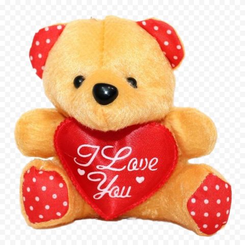 Love Teddy Bear Transparent PNG