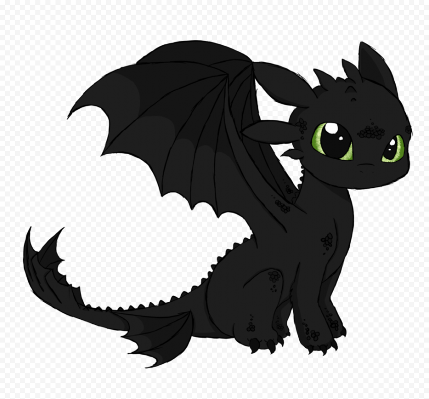 Toothless PNG Background