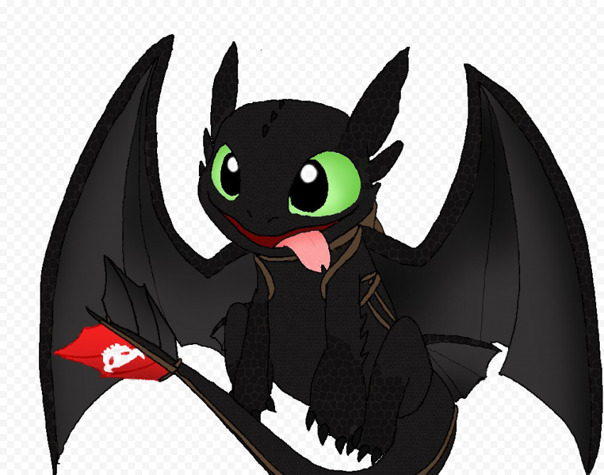 Toothless PNG Free Image