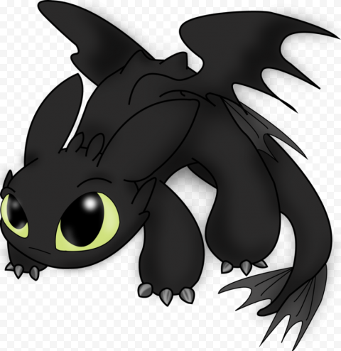 Toothless PNG Pic Background