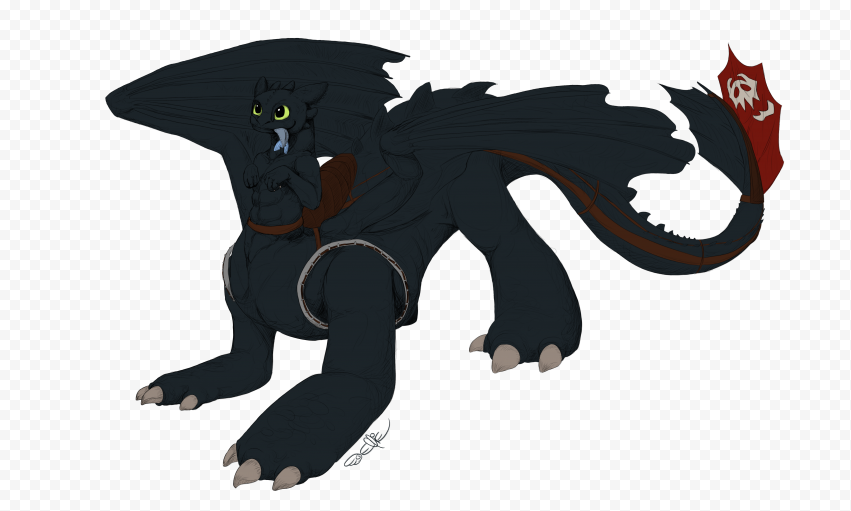 Toothless PNG No Background