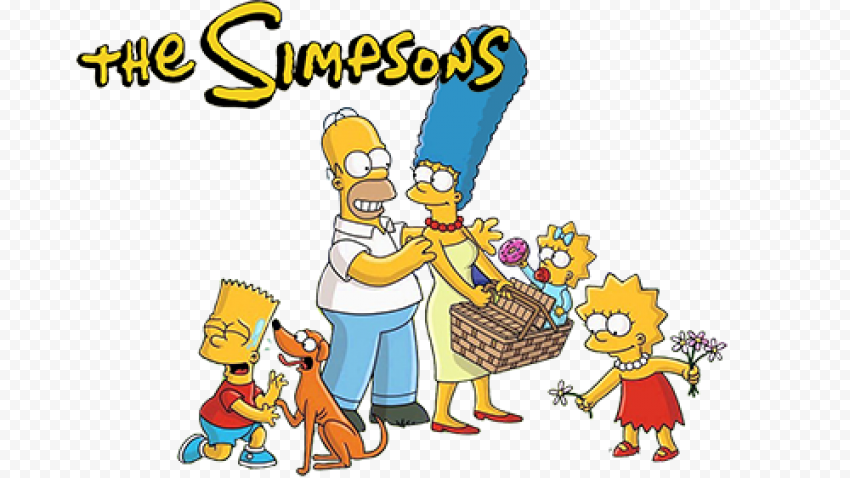 The Simpsons PNG Pic  anime free png images